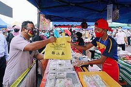 gambar 7 bantuan peniaga bazar ramadan 2