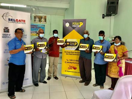 Majlis Penyerahan Kad Perak Prihatin Kg Gajah (5 Januari 2021)