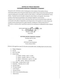 Meeting Date: April 19, 2018