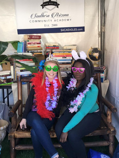 SACA Photo Booth at the Tucson Festival of Books!