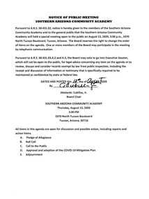 Meeting Date: August 13, 2020