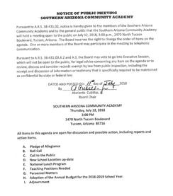 Meeting Date: July 12, 2018