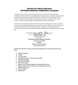 Meeting Date: June 28, 2018