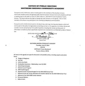 Meeting Date: June 27, 2019