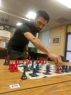 Mr. Moreno slaying at Chess, per usual!