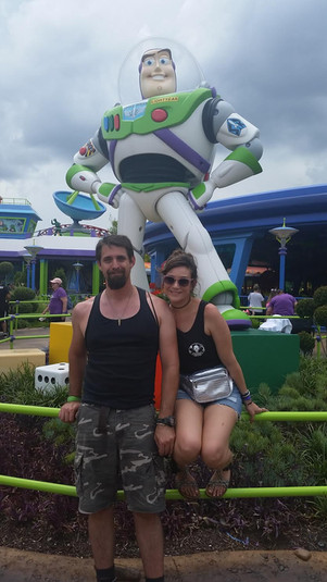 Mr. West with his girlfriend to Infinity + beyond!