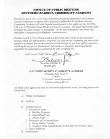 Meeting Date: July 10, 2014