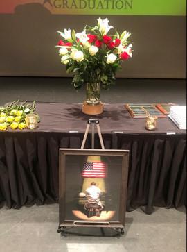 Honoring a brave man + Marine, Shawn Matthew Campbell.