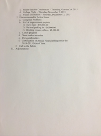 Meeting Date: October 08, 2015 Page 2