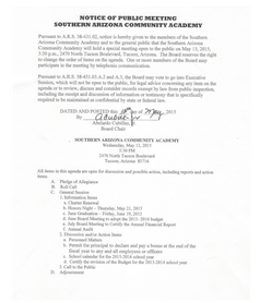 Meeting Date: May 13, 2015