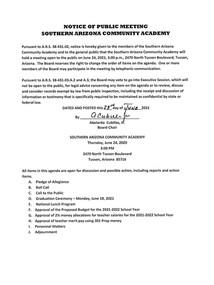 Meeting Date: June 24, 2021