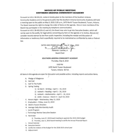Meeting Date: May 09, 2019