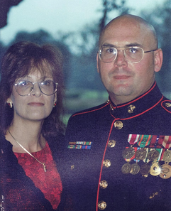 Mr. Speta and his lovely wife at the Marine Corps Ball