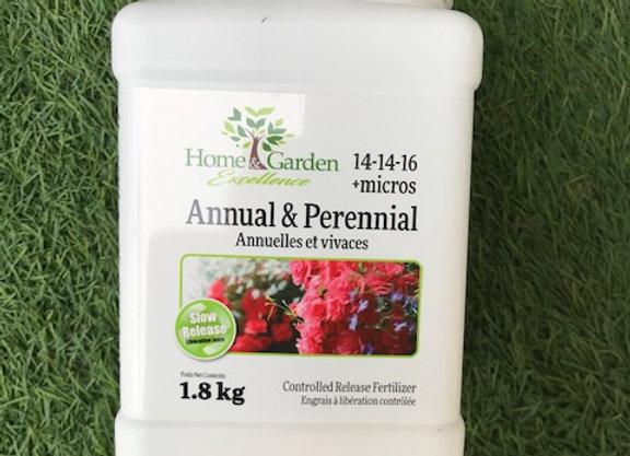 Annual and Perennial Fertilizer 14-14-16 + Micros