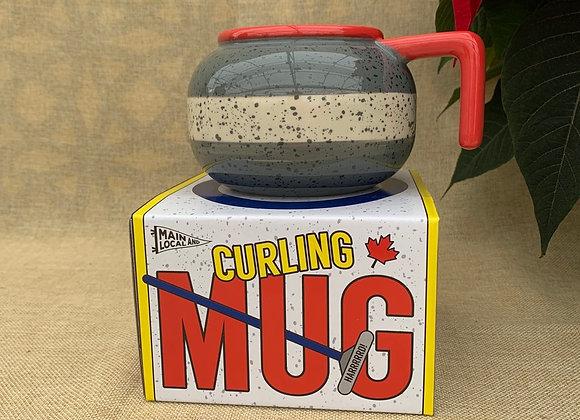 Curling Rock Coffee Mug