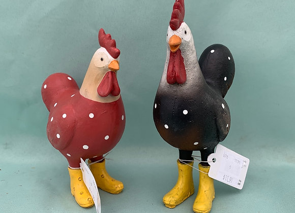Chickens in Rubber Boots