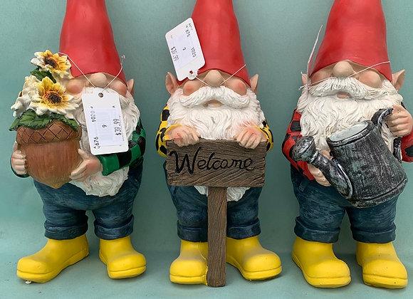 Gnomes in Rain Boots