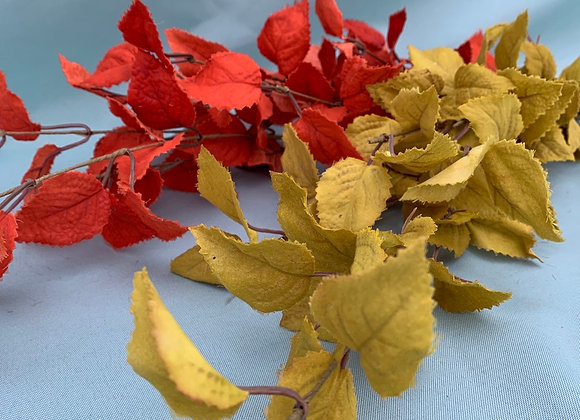 Permanent Fall Leaves