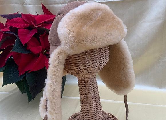 Beige Winter Hat