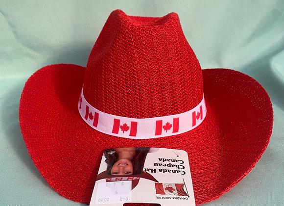 Canada Day Cowboy Hat