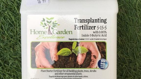 Liquid Transplanting Fertilizer 5-15-5