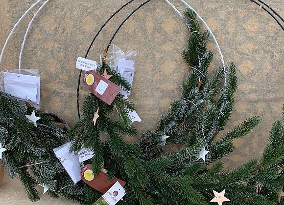 Hoop Wreath - Set of 2