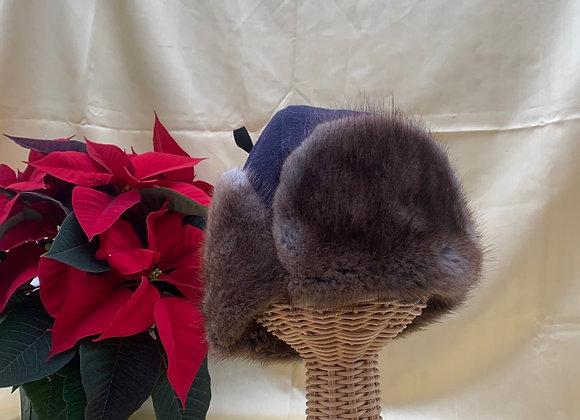 RCMP Issue Muskrat Trapper Winter Hat