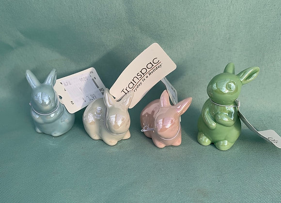 Mini Ceramic Bunny
