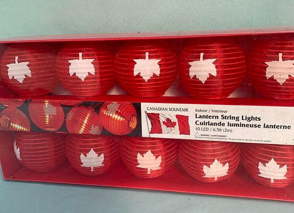 6.5ft Canada Lantern String Lights