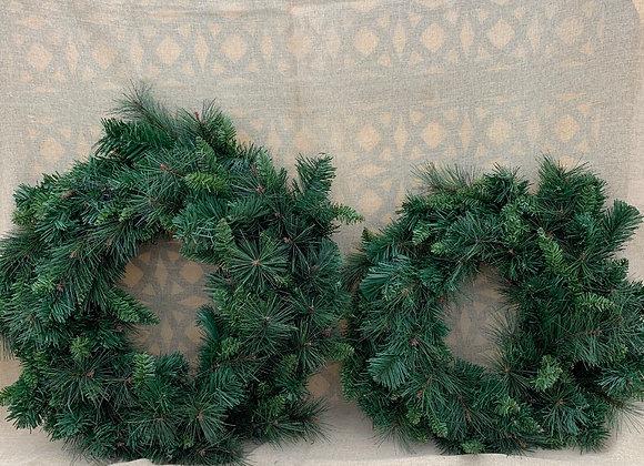 Permanent Mixed Pine Wreath