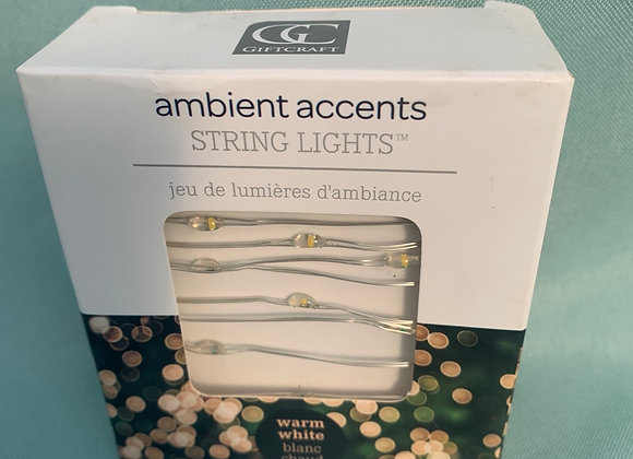 """Ambient Accents """"Fairy""""  String Lights Assorted"""