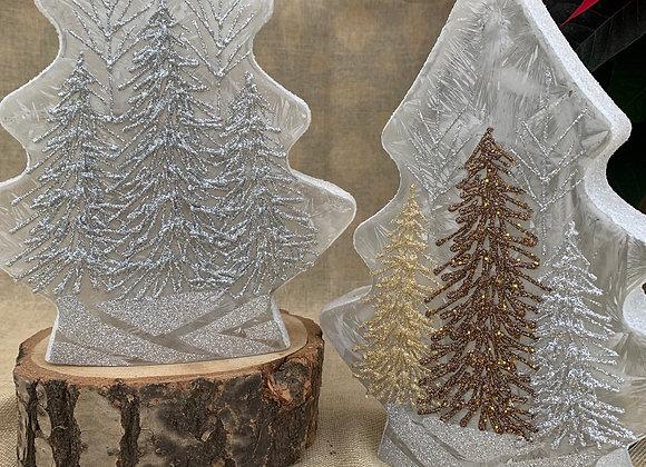Lighted Tree Vase - Sparkly Trees