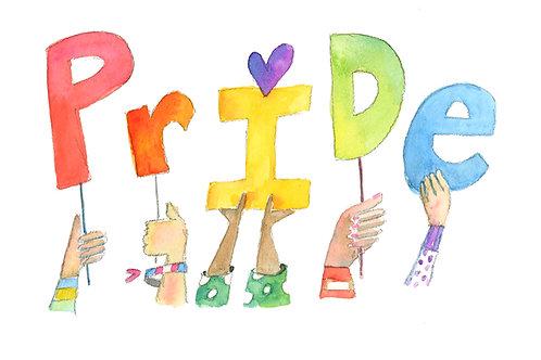 Pride Postcard Download