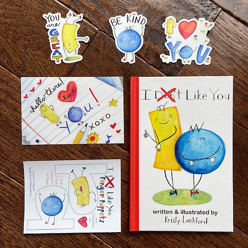"""""""I Don't Like You"""" Paperback Book & Extras"""