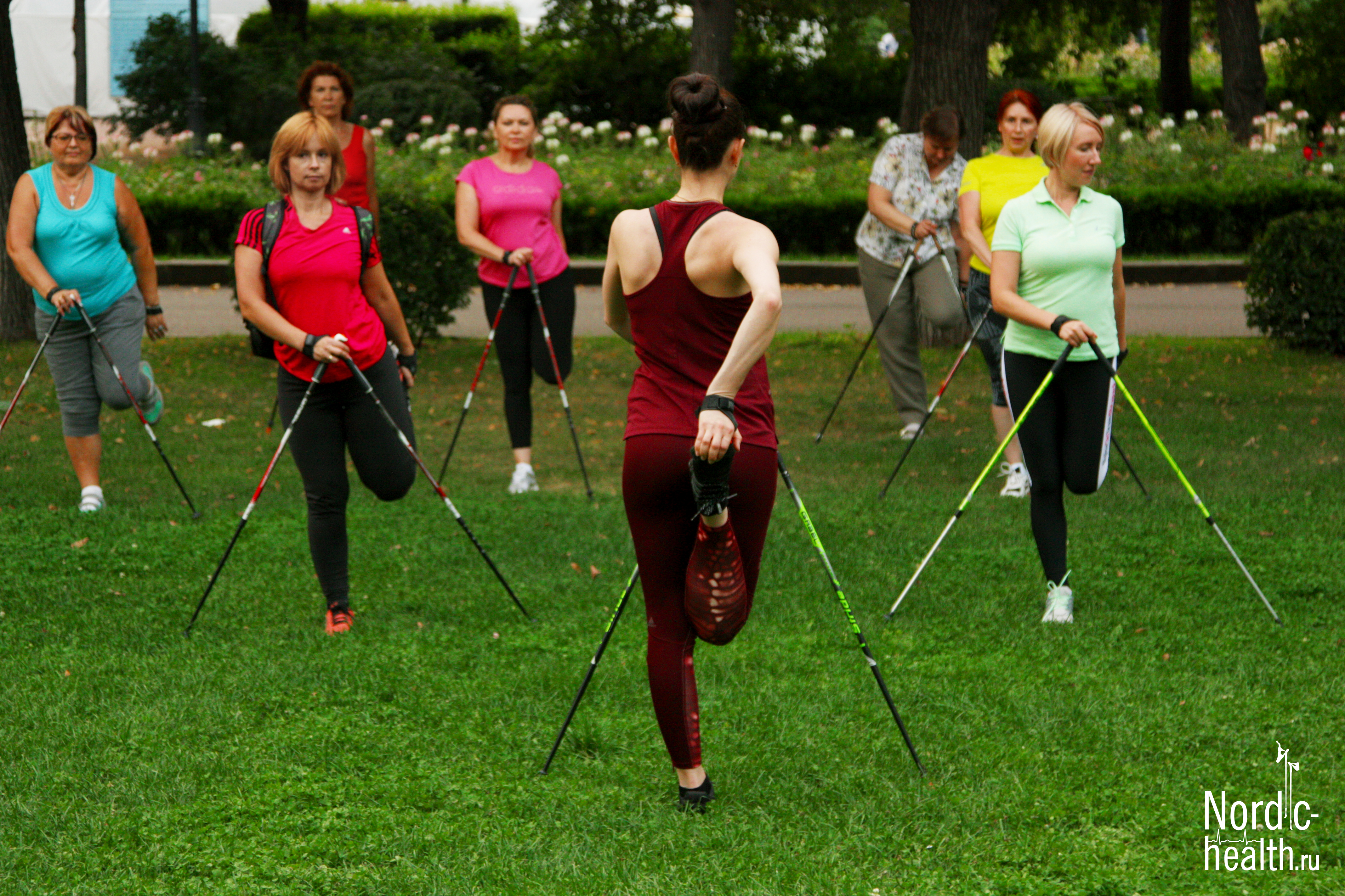 Тренировка в Парке Горького