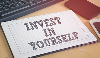 Invest in yourself. Business motivation