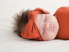 Posh Peanut Infant Headband Rust