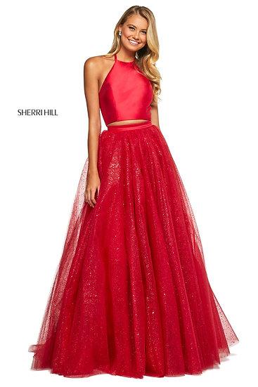 Sherri Hill 53500 Red