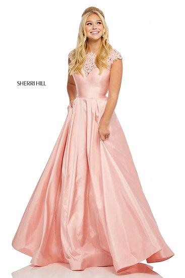 Sherri Hill 52487 Blush