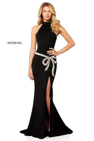 Sherri Hill 52288 Black/Silver