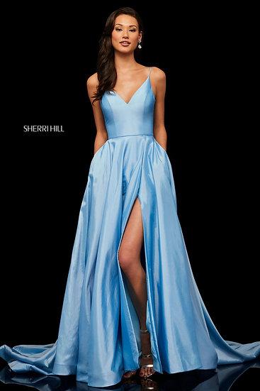 Sherri Hill 52245 Light Blue