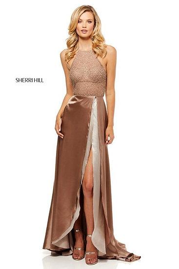 Sherri Hill 52570 Mocha
