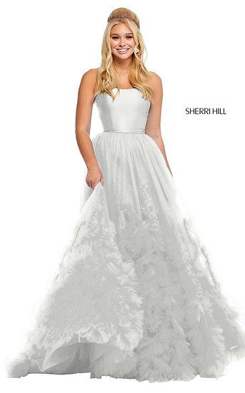 Sherri Hill 52693 Ivory