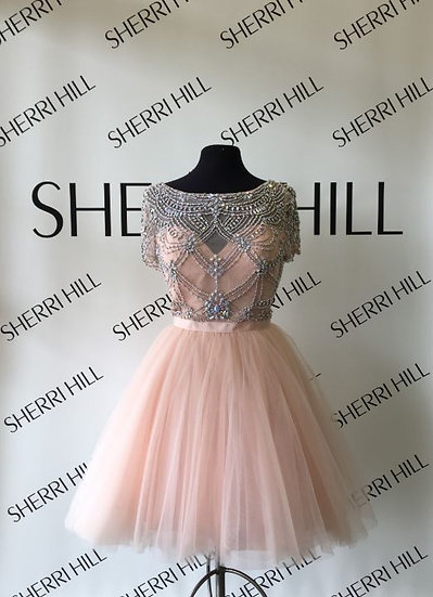 Sherri Hill 50709 Blush