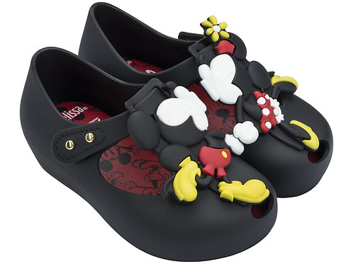 Mini Melissa Ultragirl + D02 Mickey and Minnie Black