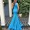 Thumbnail: Jovani 06367A Turquoise