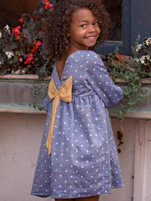Mabel + Honey Blue Sky Thinking Dress