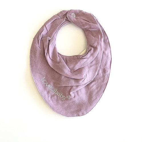 L'ovedbaby Bandana Bib Lavender