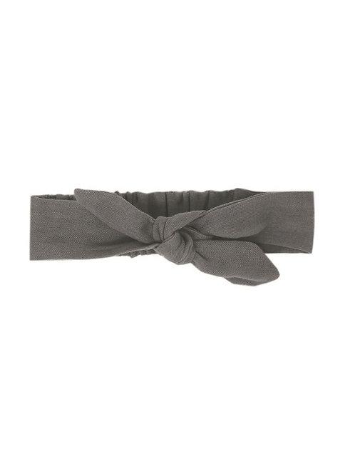 L'ovedbaby Tie Headband Gray