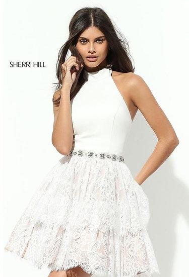 Sherri Hill 50634 Ivory